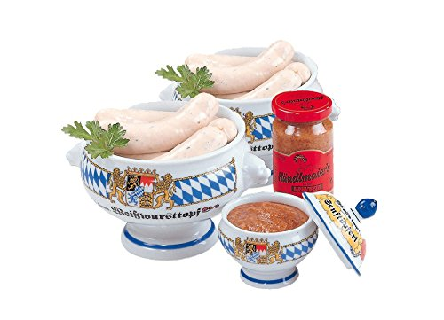 Weißwurstpaket ★ mit kesselfrischen Weißwürsten 'Münchner Art' und süßem bayerischen Senf...