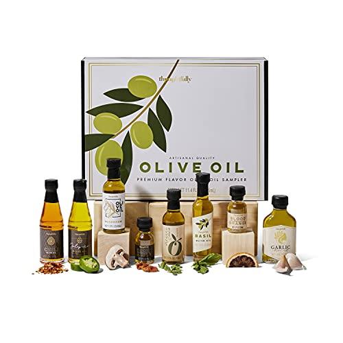 Modern Gourmet Foods - Olive Oil Set - Probierset mit 8 leckeren Olivenölen - Mit verschiedenen...