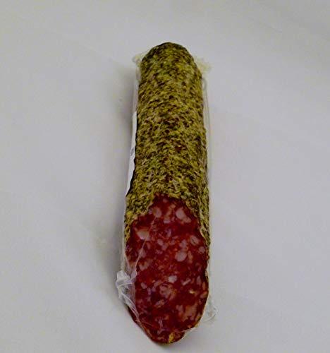 250 gr. Südtiroler Salami mit Brotkleemantel aus dem Vinschgau vom Metzger keine Industrieware