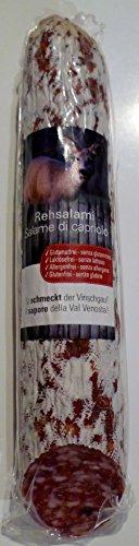 250 gr. Südtiroler Rehsalami aus dem Vinschgau vom Metzger keine Industrieware