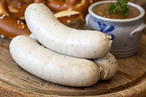 Food-United Weißwurst Münchner Art 300g aromaintensiv mit Schweinefleisch und Kräutern nach...