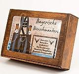 Bayerische Bierschmankerl - Geschenkkorb für Männer mit bayerischen Feinkostspezialitäten -...