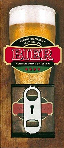Bier aus aller Welt: Geschenkset mit Buch, Bierdeckel und Öffner