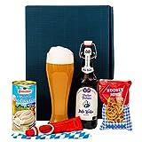 Geschenkset Augsburg Bayern Geschenkkorb mit Bier und bayrischen Spezialitäten