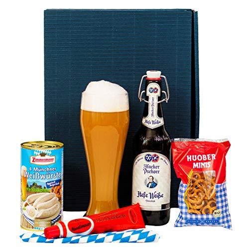 Geschenkset Augsburg | Bayern Geschenkkorb gefüllt mit Bier & bayrische Spezialitäten |...
